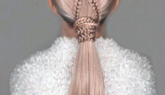 10 peinados de nalgas de heroína más modernos para mechones grande