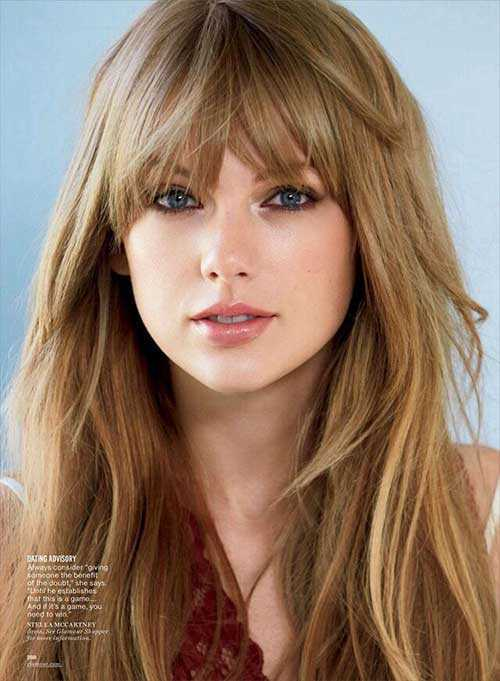 Celebrity Hairstyles with Bangs-18