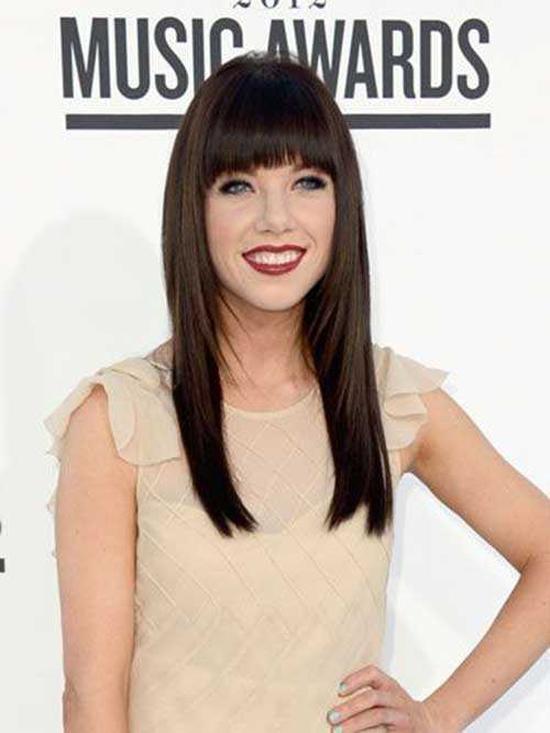Celebrity Hairstyles with Bangs-23