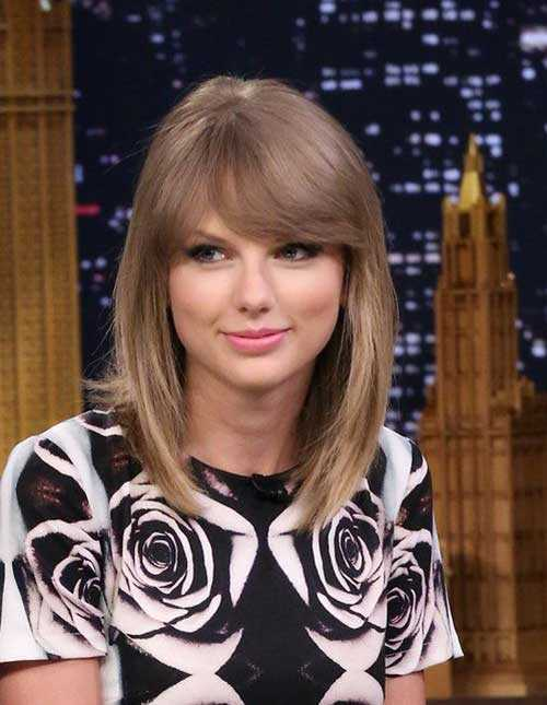 Celebrity Hairstyles with Bangs-25