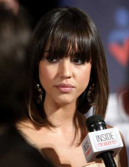 Celebrity Hairstyles with Bangs-8