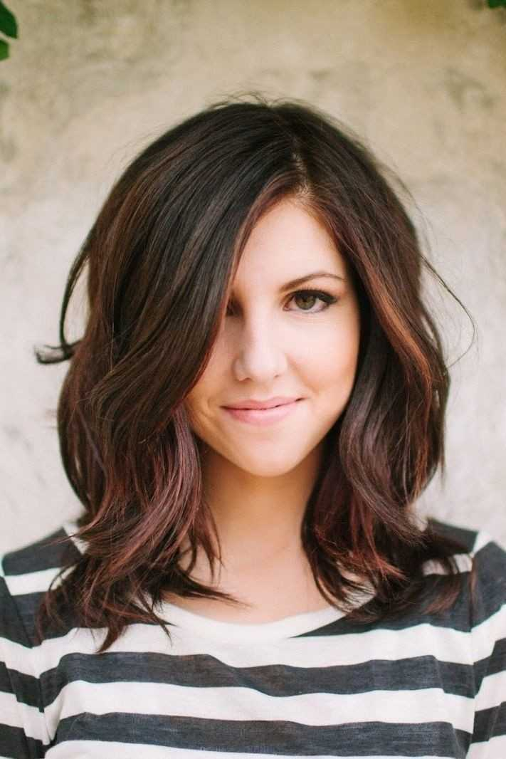 Medium Hairstyles with Bangs - Women Hairstyle Ideas
