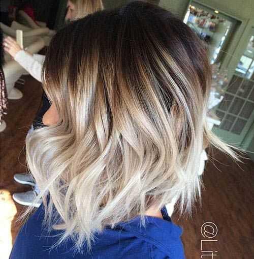 Precioso Medio de la Longitud de los Cortes de pelo para Tu Próximo Look