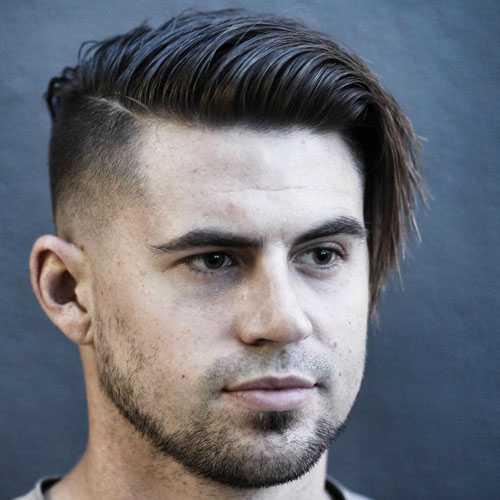 Corte de pelo hombre con cara ovalada