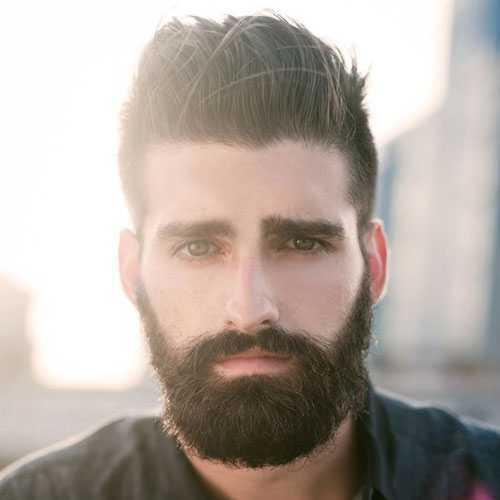 Corte cabello cara larga hombre